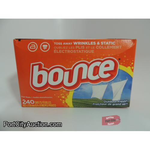 Bounce Dryer Sheets - Outdoor Fresh 240 Count