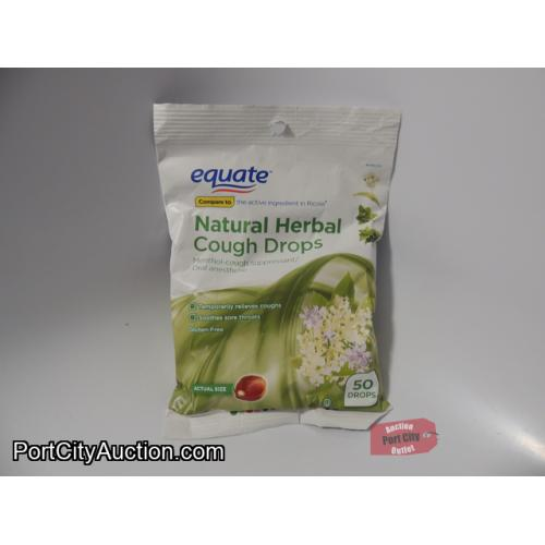 Equate Natural Herbal Cough Drops