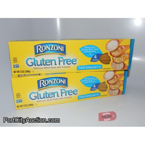Lot of 2 Ronzoni Gluten Free Thin Spaghetti