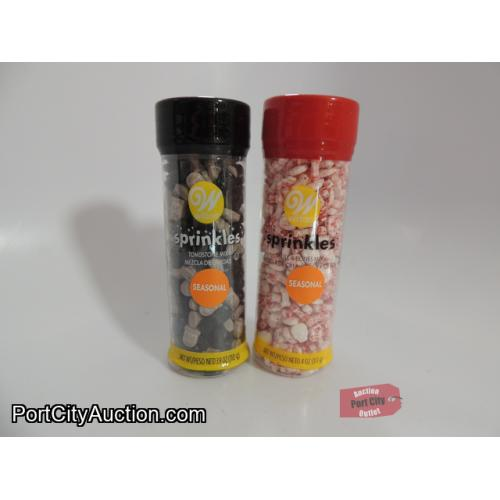 Lot of 2 Wilton Haloween Sprinkles